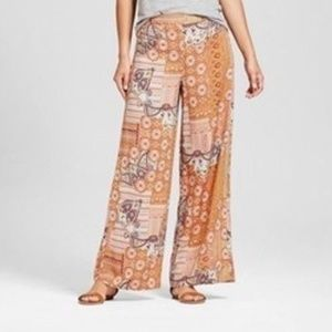 Women's Global Treasure Collection  Wide Leg  Pant
